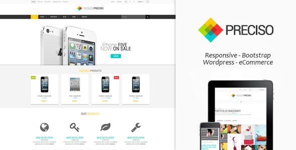 preciso - responsive e-commerce theme