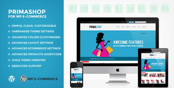 primashop for wp ecommerce (wpec) wordpress theme