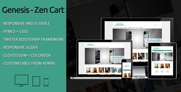 Best zen cart themes templates for Free responsive zen cart templates