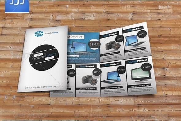 bifold product brochure