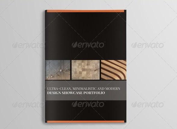 clean elegant portfolio template (20 pages)