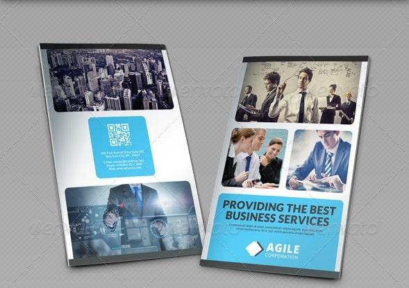 corporate bi-fold brochure vol 17
