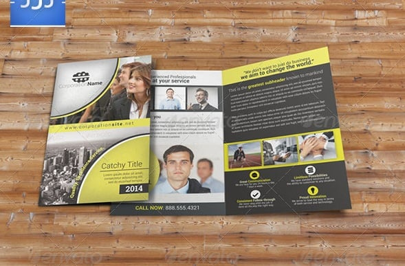 multipurpose business bifold brochure 31