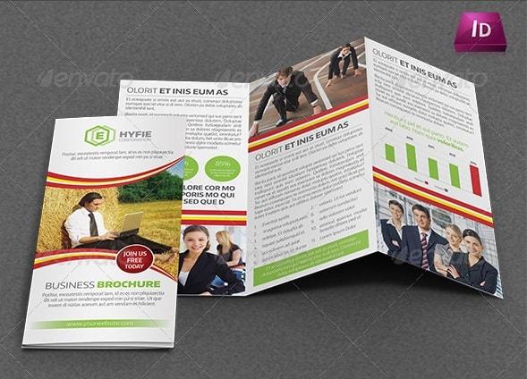 multipurpose business tri-fold brochure vol-24
