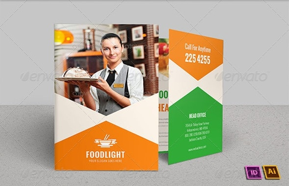 restaurant business bi-fold brochure | volume 11