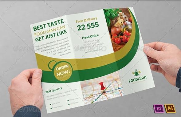 restaurant business tri-fold brochure | volume 15