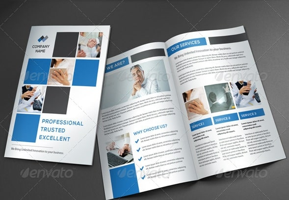 Best 200 free premium brochure templates for Basic brochure template