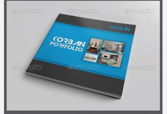 square portfolio / catalog template