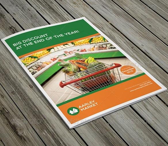 supermarket / product brochure