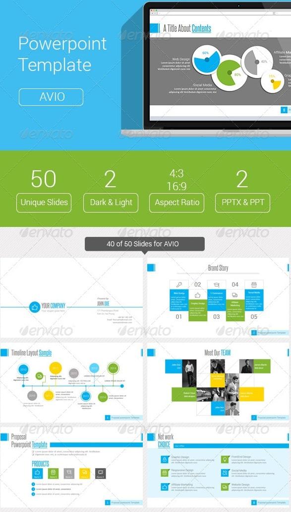 design a powerpoint template