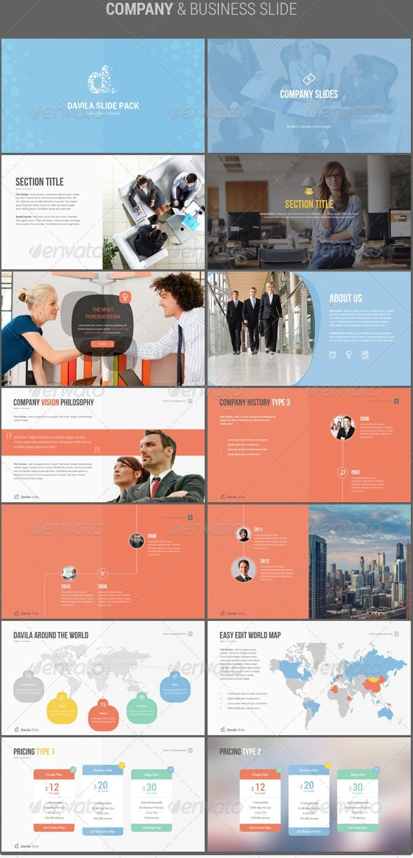 davila 2 multipurpose business template