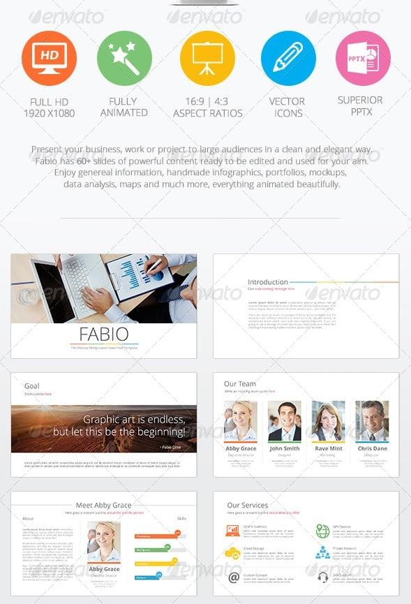 fabio - ultimate multipurpose powerpoint template