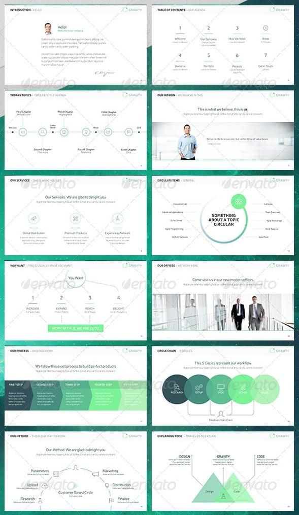free and premium powerpoint templates  pixels, Powerpoint