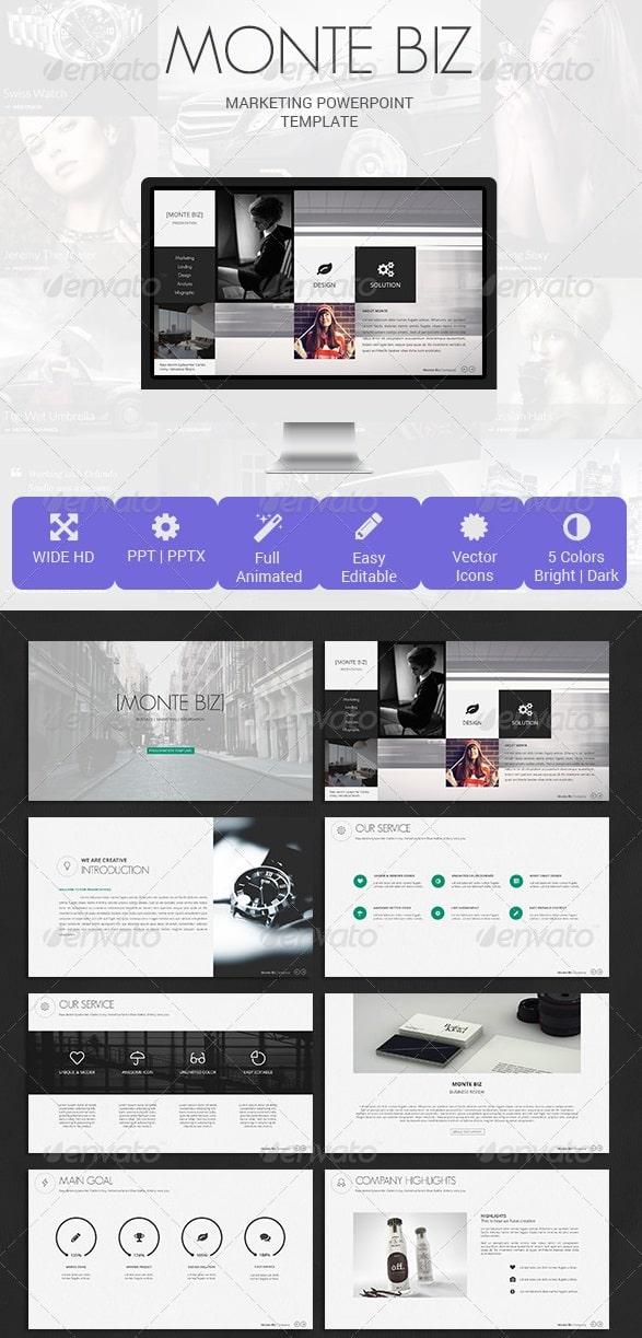 monte biz presentation template