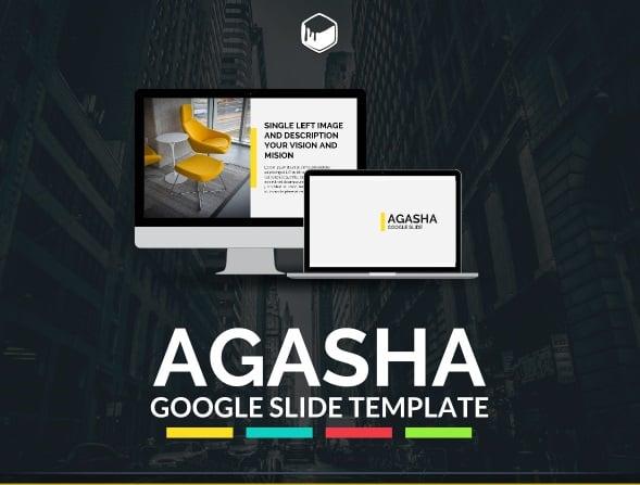 agasha - google slide template
