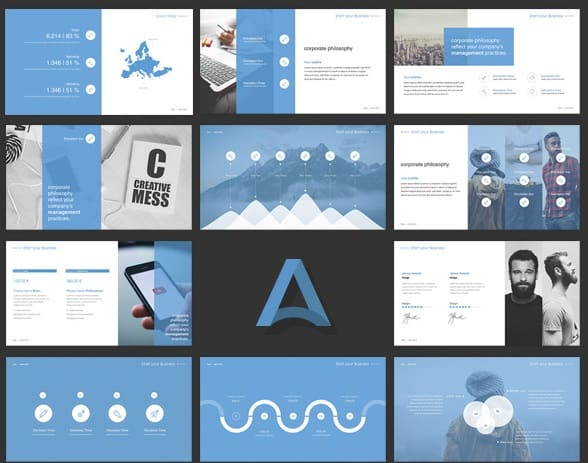 alpha slides
