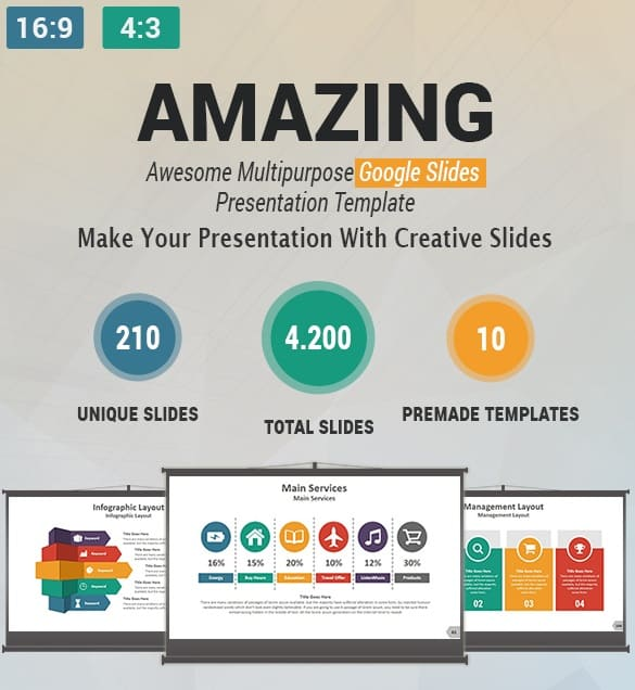 amazing google slides presentation template