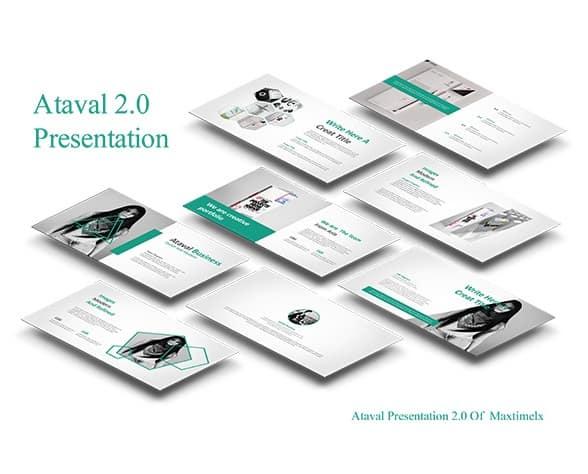 ataval 2.0 google slide templates