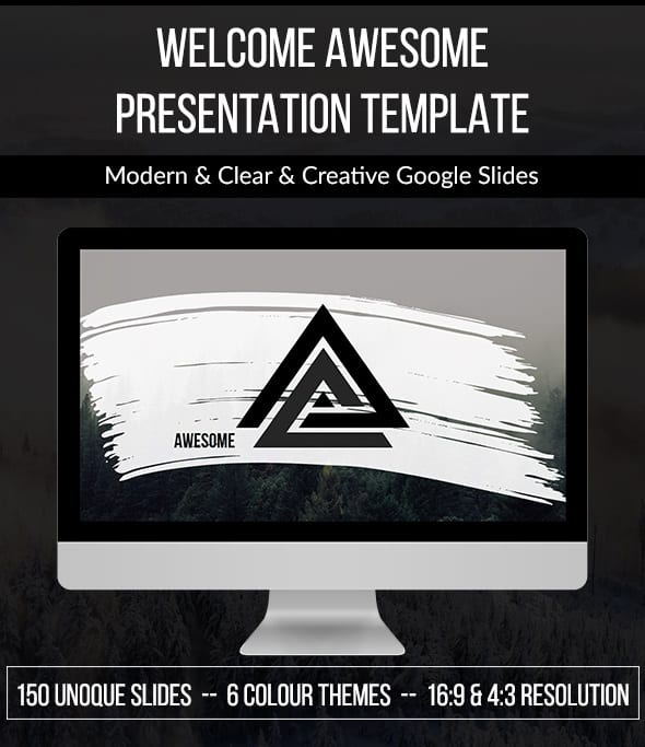 awesome google slide template
