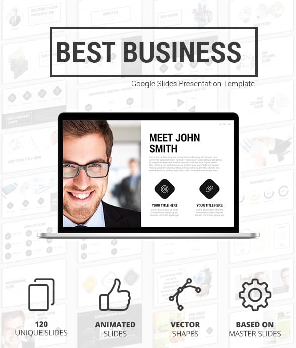 best business google slides presentation template