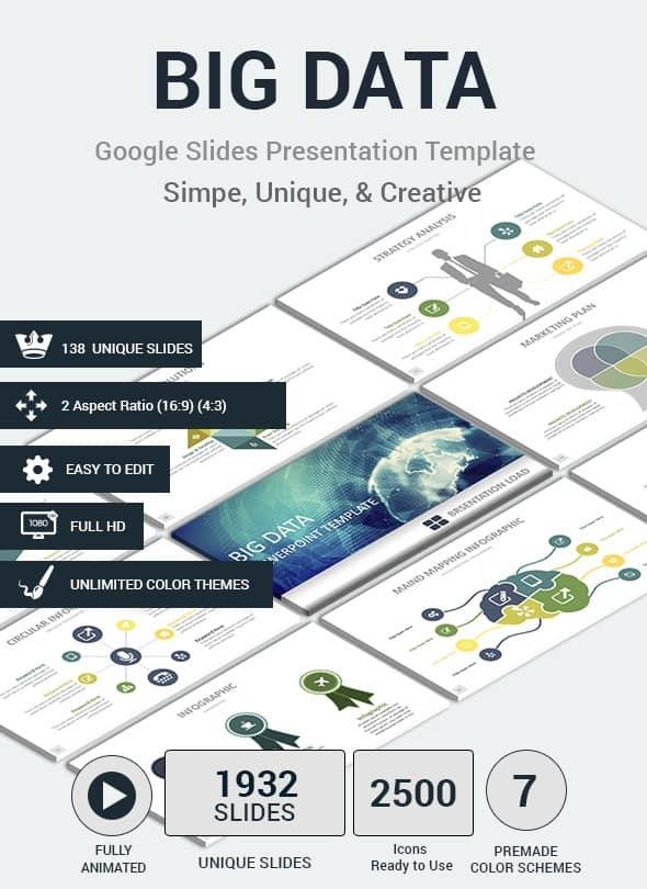 big datas google slides presentation template