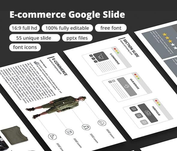 e-commerce - google slide