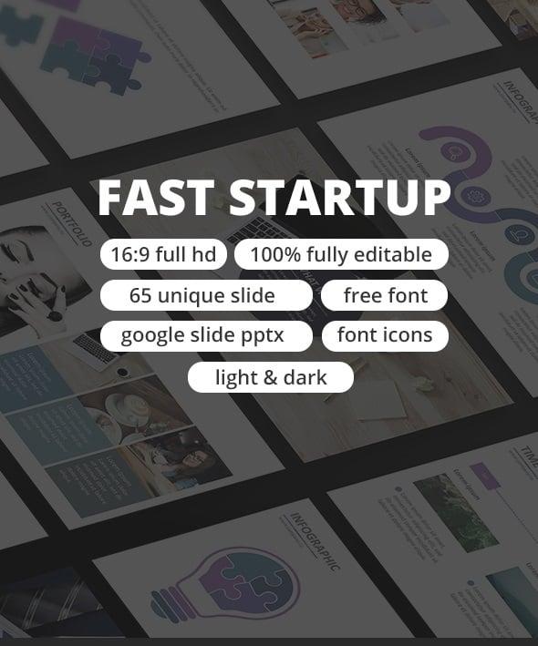 fast start up - google slide