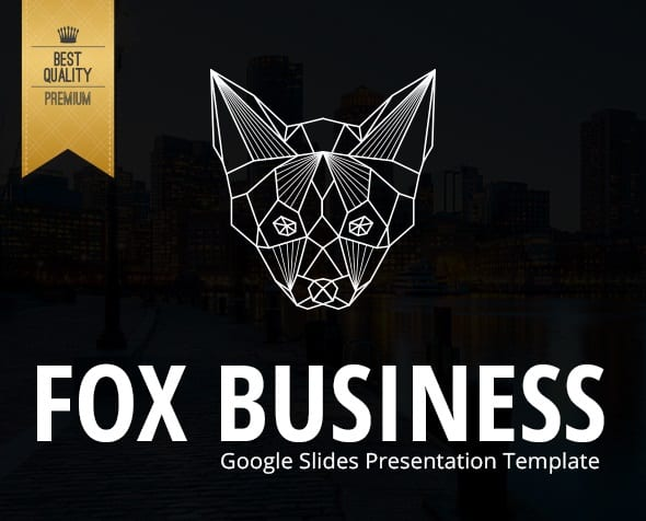 fox business google slides presentation template