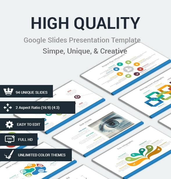 high quality google slides presentation template