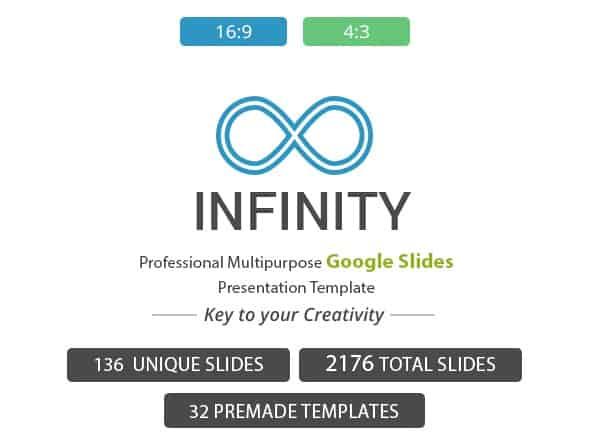 infinity google slides presentation template