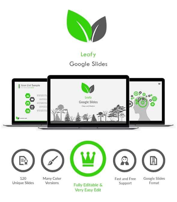 leafy google slides