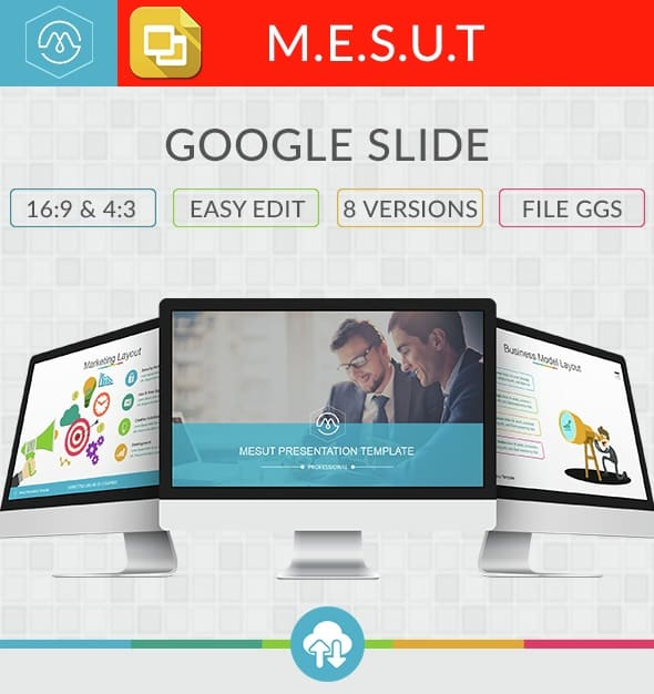 mesut google slide template