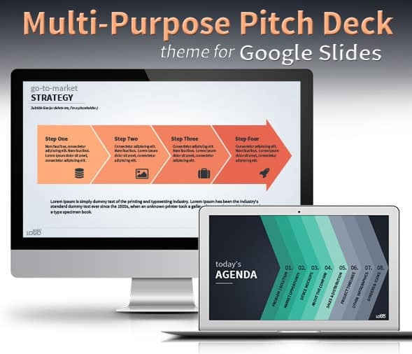 multi-purpose vector business theme for google slides