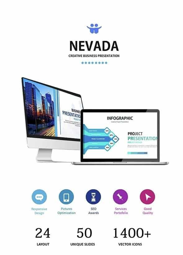 nevada - google slides business presentation