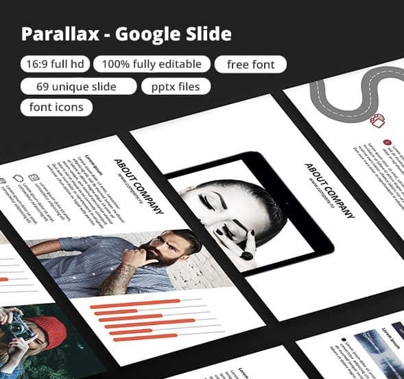 parallax - google slide