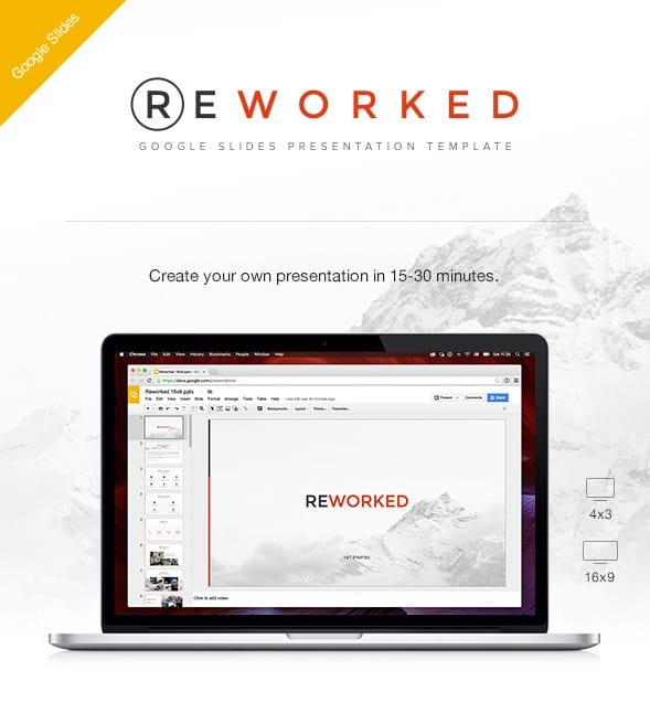 reworked google slides presentation template