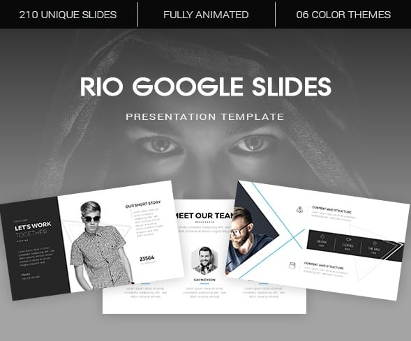 rio google slides template