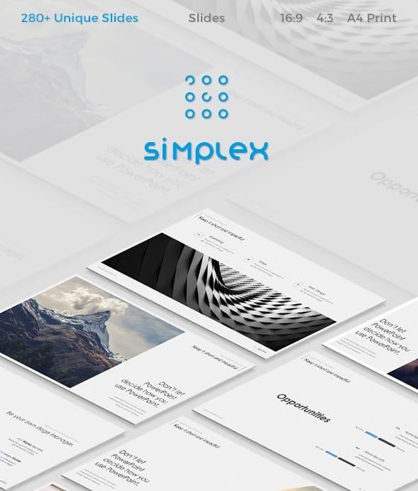 simplex slides