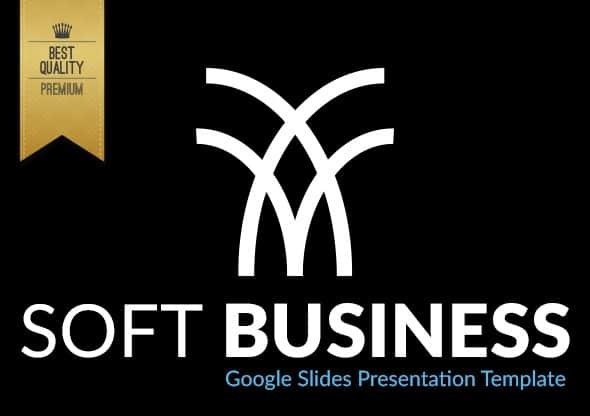 soft business google slides presentation template