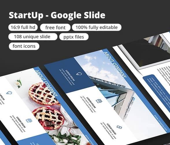 startup - google slide