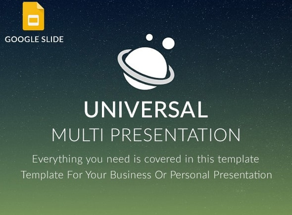 universal google slide presentation template
