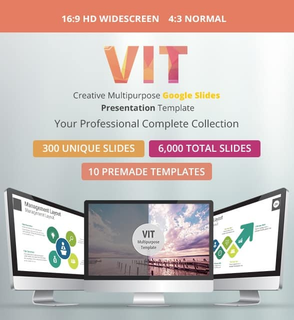 vit multipurpose google slides presentation template